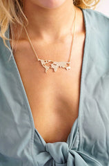 World Map Necklace - lvndr  - 2