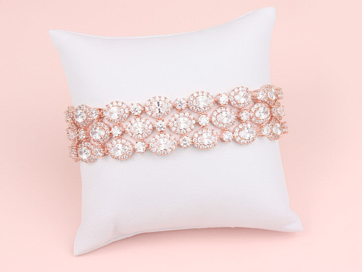 Madison Bracelet - Rose Gold