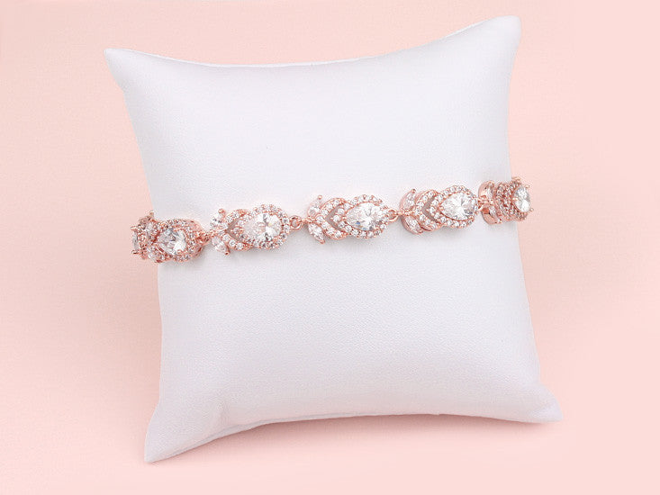 Kiera Bracelet - Rose Gold