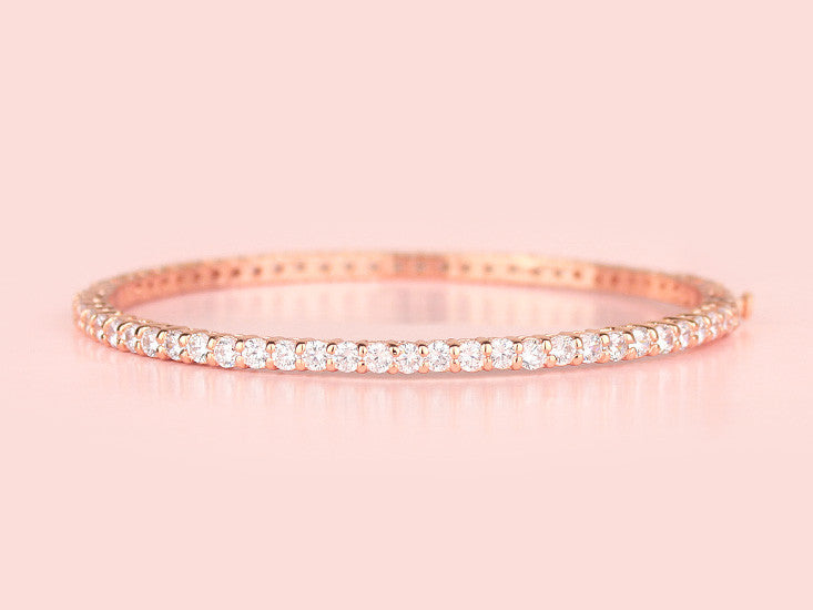 Bailey Bangle - Rose Gold