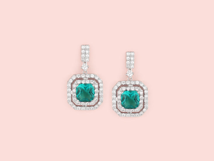 Lana Earrings - Tourmaline