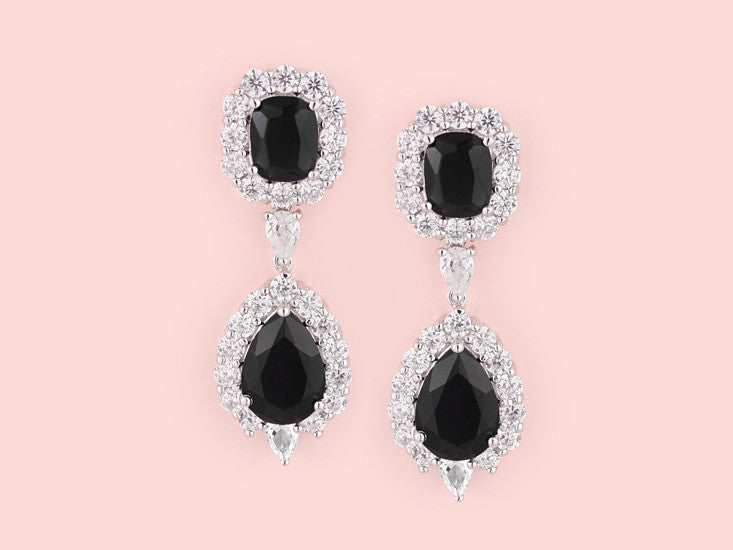 Maci Earrings - Black