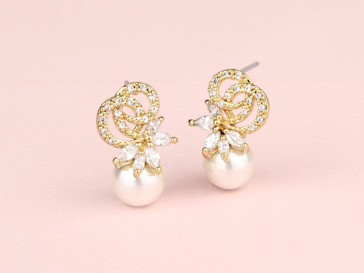 Imelda Earrings - Gold