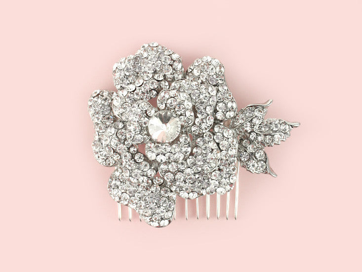 Crystal Rose Comb