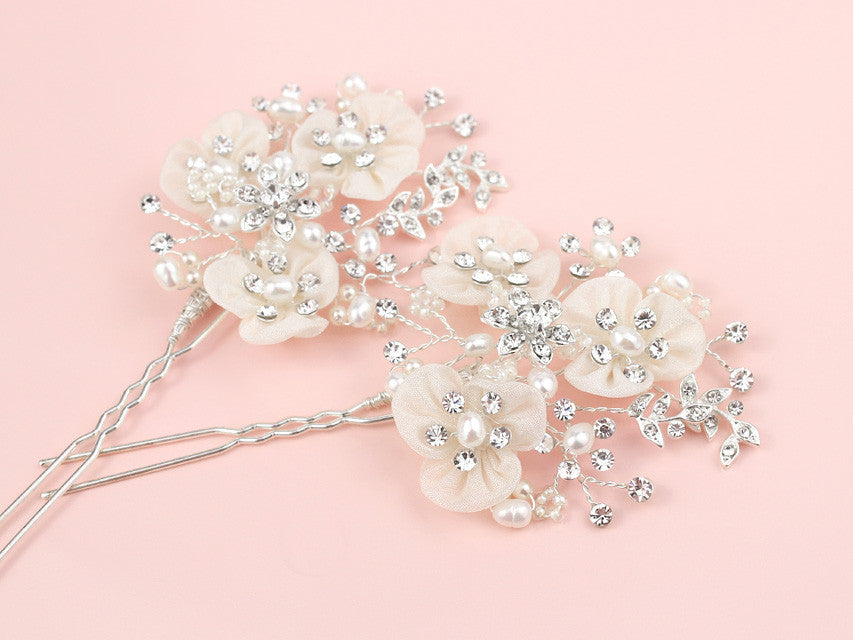 Thalia Hair Pins - Set of 2