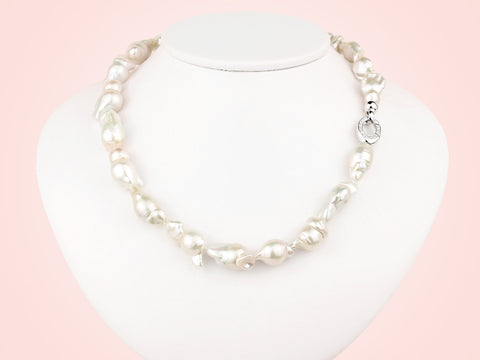 Aurora Baroque Pearl Necklace