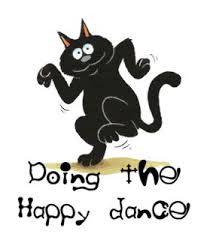 The Happy Cat doing the Happy Dance