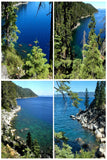 Assorted Card Set: 4 Lake Tahoe scenes by PonsART $19.95 - PAMELA'S ART by PonsART - a Gift Shop and Marketplace