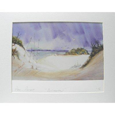 Beach Decor Print: Watercolor gicle'e by PonsART $70.00 - PAMELA'S ART by PonsART - a Gift Shop and Marketplace