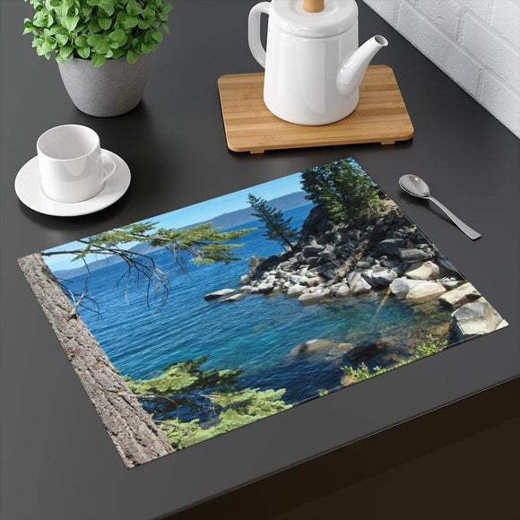 Blue Tabletop Placemat: 18