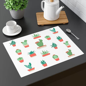 "Cactus Tabletop Placemat: 18"" x 14"" by PonsART $24.95 - PAMELA'S ART by PonsART - a Gift Shop and Marketplace"