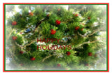 Card for Holidays: Blank inside; by PonsART $6.25 - PAMELA'S ART by PonsART - a Gift Shop and Marketplace