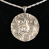 Fine Silver Pendants: 6 styles; Including chain; $70.00 - PAMELA'S ART by PonsART - a Gift Shop and Marketplace
