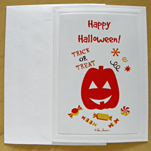 Halloween Greeting Card: Single or Sets by PonsART $6.25 - PAMELA'S ART by PonsART - a Gift Shop and Marketplace