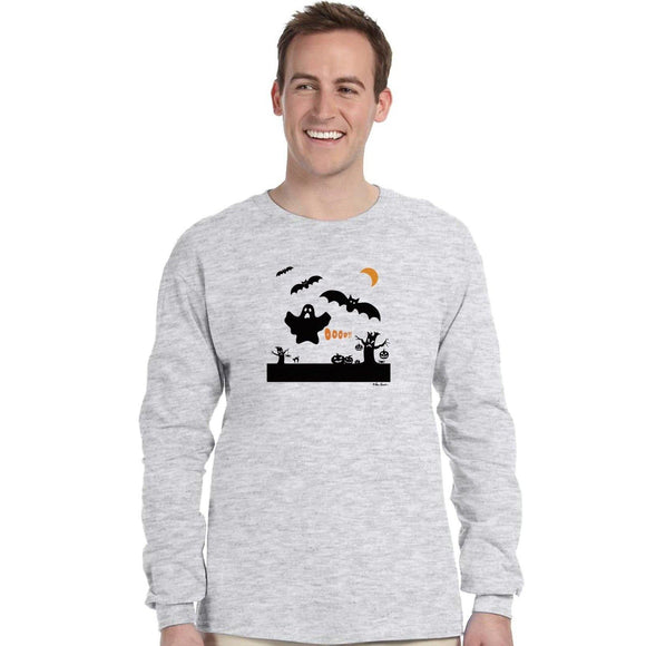 Halloween T-Shirt: Long Sleeve; by PonsART $36.95+ - PAMELA'S ART by PonsART - a Gift Shop and Marketplace