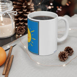 Inspirational Ceramic Mug: 11 oz; by PonsART $23.25 - PAMELA'S ART by PonsART - a Gift Shop and Marketplace
