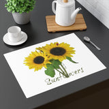 "Placemat with Sunflowers: 18""x14"" by PonsART $24.95 - PAMELA'S ART by PonsART - a Gift Shop and Marketplace"