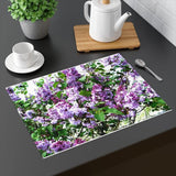 "Purple Tabletop Placemat: 18"" by 14""; by PonsART $24.95 - PAMELA'S ART by PonsART - a Gift Shop and Marketplace"
