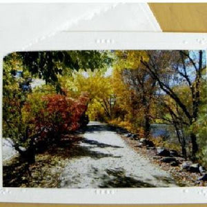 River Walk Card: Blank inside; Handcrafted by PonsART $6.25 - PAMELA'S ART by PonsART - a Gift Shop and Marketplace