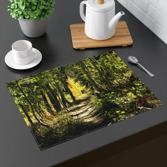 Rustic Tabletop Placemat: 18