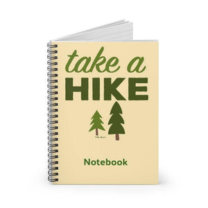 Spiral Bound Notebook: For Hiker; by PonsART $22.95 - PAMELA'S ART by PonsART - a Gift Shop and Marketplace