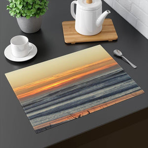 "Sunset Orange Placemat: 18"" by 14"" by PonsART $24.95 - PAMELA'S ART by PonsART - a Gift Shop and Marketplace"