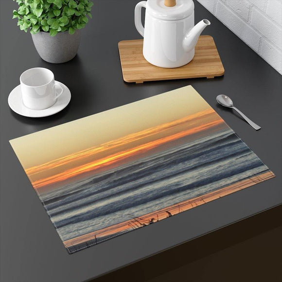 Sunset Orange Placemat: 18