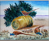 Thanksgiving Photo Card: Blank inside; by PonsART $6.25 - PAMELA'S ART by PonsART - a Gift Shop and Marketplace