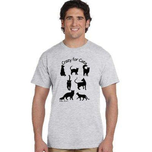 Unisex Cotton T-shirt: For Cat-Lover; by PonsART $28.95+ - PAMELA'S ART by PonsART - a Gift Shop and Marketplace