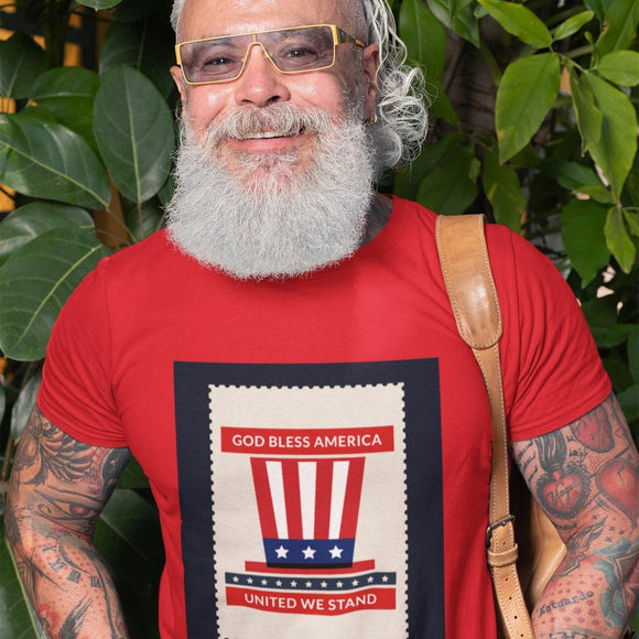 Unisex Patriotic T-shirt: 3 Colors by PonsART $21.95+ - PAMELA'S ART by PonsART - a Gift Shop and Marketplace