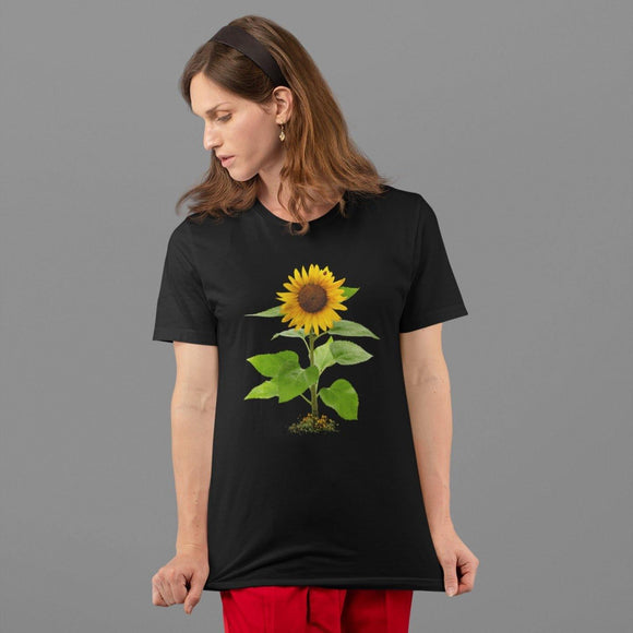 Unisex Sunflower T-shirt: Adult sizing; Cotton $21.95+ - PAMELA'S ART by PonsART - a Gift Shop and Marketplace