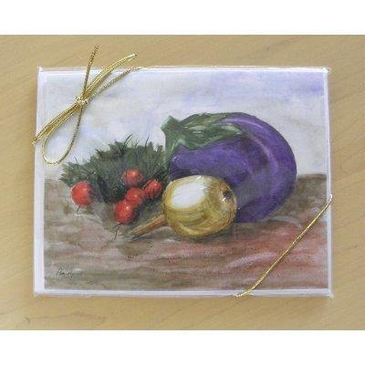 Watercolor Note Cards: A 4-piece set by PonsART $17.95 - PAMELA'S ART by PonsART - a Gift Shop and Marketplace