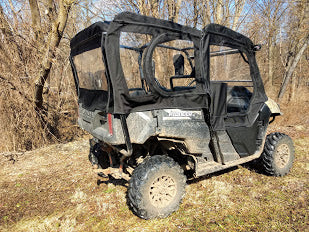 Honda Pioneer 700-4 Full Cab Enclosure Sides and Rear Window