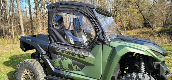 Yamaha Wolverine RMAX2 2021 2 Door Utv Upper Doors Enclosure (Sides Only)