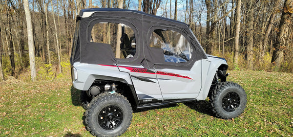 Yamaha Wolverine RMAX4 2021 Crew Cab 4 Door Utv Full Cab Enclosure (Sides & Rear Window)