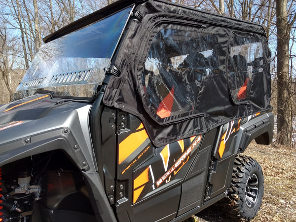 Yamaha Wolverine X4  2018-2020 Crew Cab 4 Door Utv Full Cab Enclosure (Sides & Rear Window)