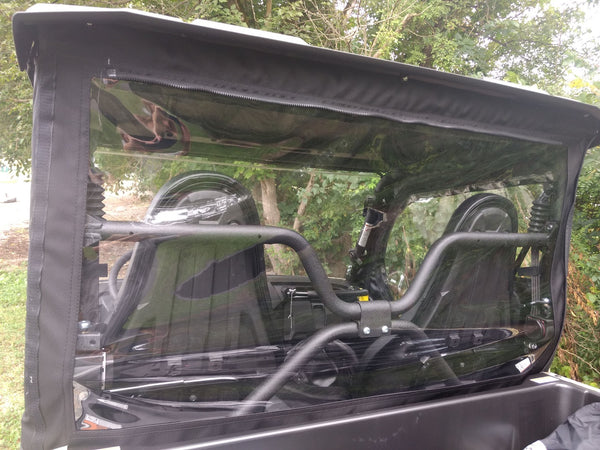 \Yamaha Wolverine X2  2 Door 2019 Utv Soft Cab Enclosure Rear Window Only