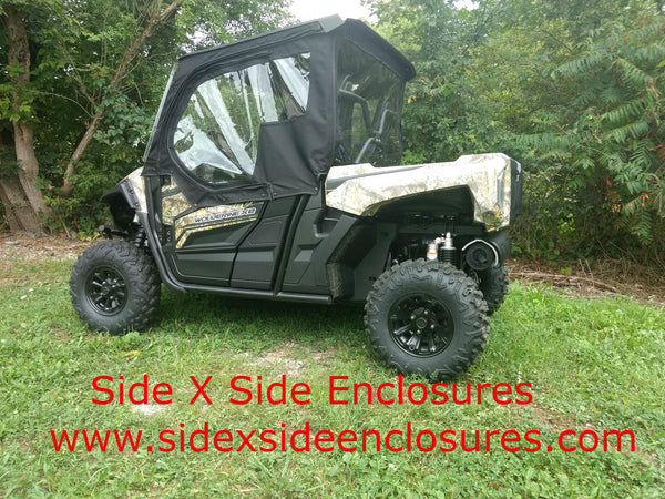 2019 Yamaha Wolverine X2 Crew Cab 2 Door Utv Full Soft Cab Enclosure - Side X Side Enclosures