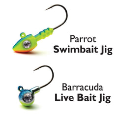 Parrot and Barracuda Jigs