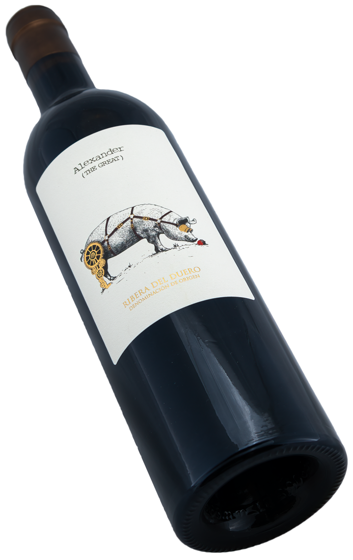 Alexander (The Great) vs. the Ham Factory Casa Rojo Swagwine Ribera del Duero Crianza Tempranillo