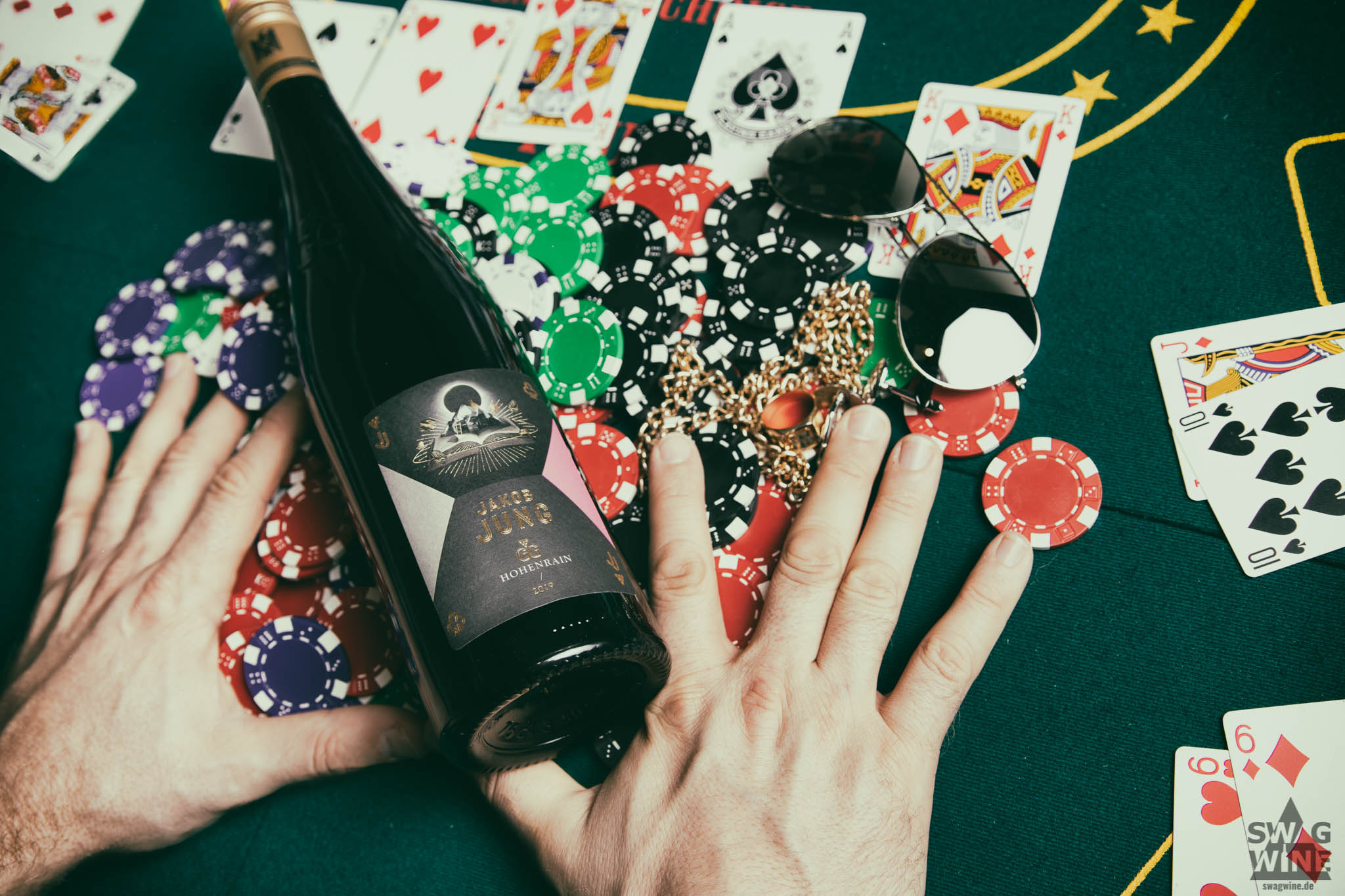 Jakob Jung Riesling GG Hohenrain All in Poker