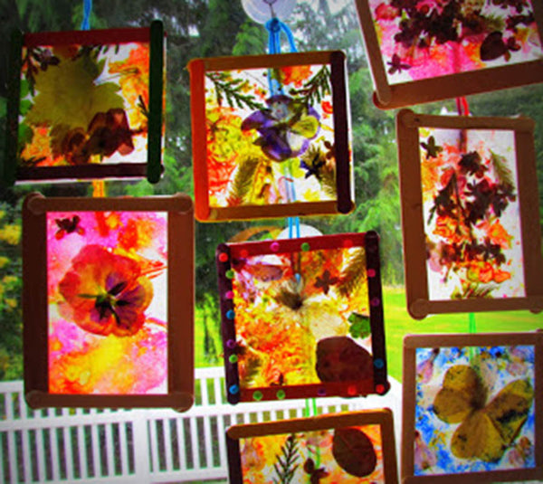 Pressed Flower Suncatchers by Misilla, Learn to Grow