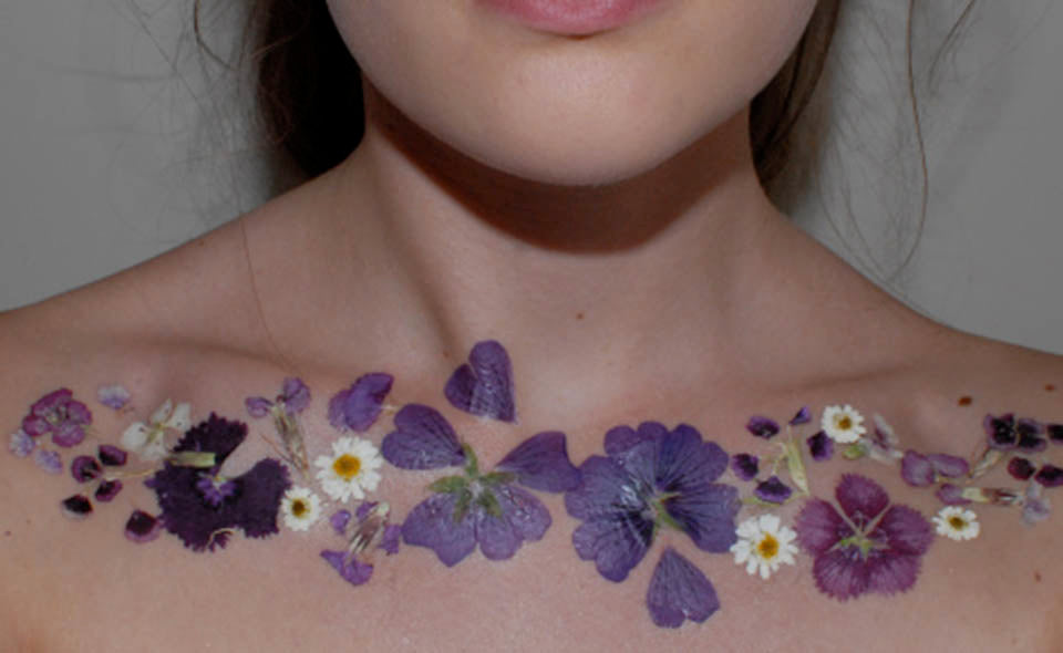10 amazing things you can do with pressed flowers greetings of grace pressed flower tattoos by thethinkinghatt mightylinksfo