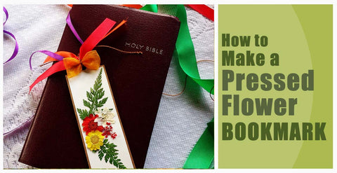 How to Make a Pressed Flower Bookmark