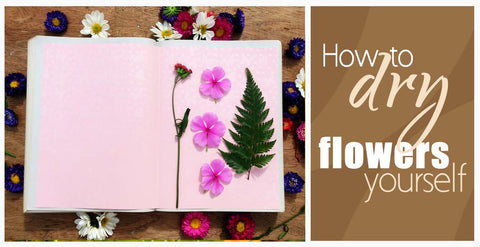 How to Dry Flowers Yourself