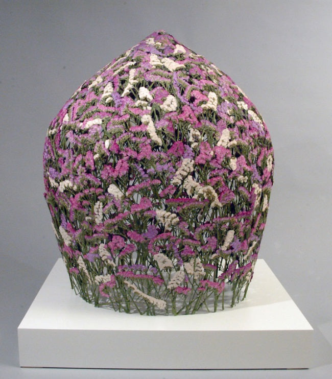 Pressed Flower Sculptures by Ignacio Canales Aracil