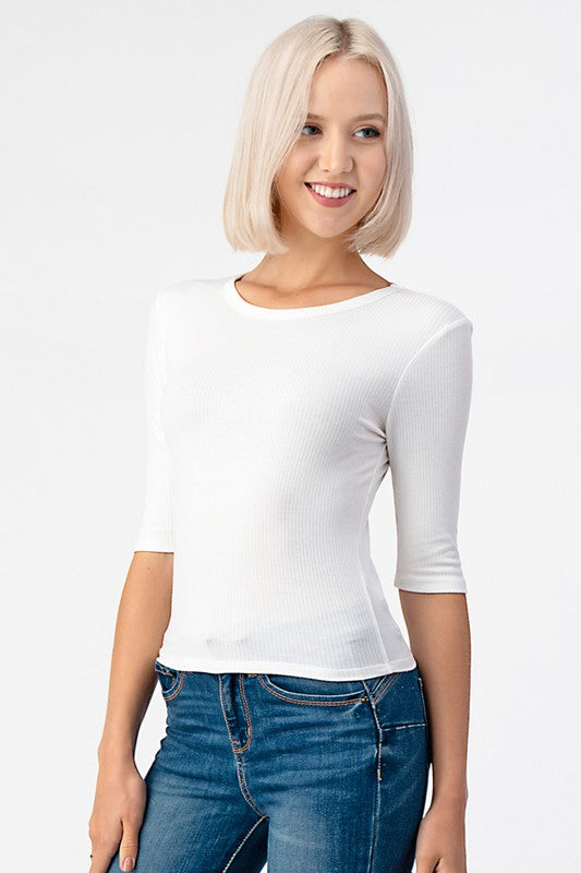 Knit, Regular Fit, Waist Length & Casual Style Top