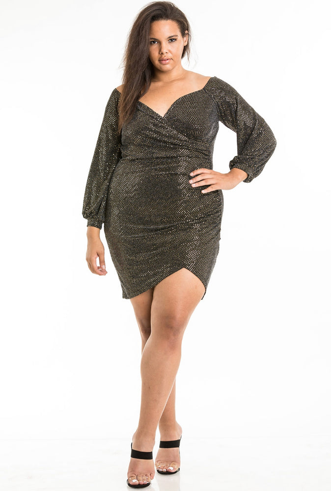 MINI CURVY DRESS