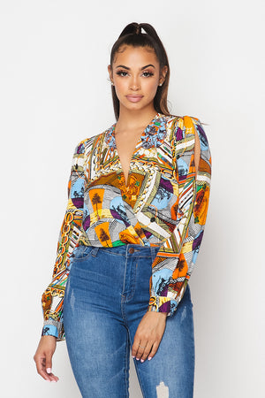 ALL OVER PRINT Bodysuit