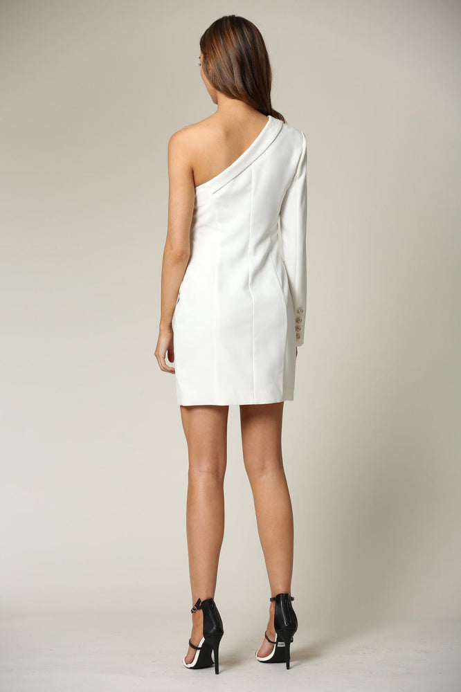 Blithe One Shoulder Dress
